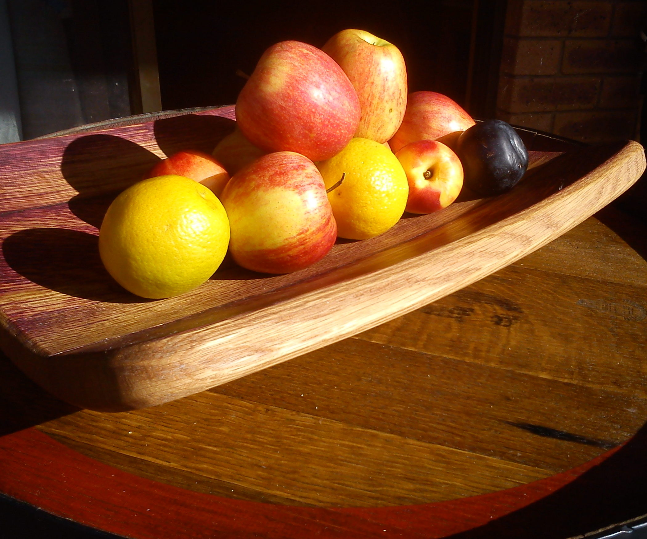 Fruit bowl on a table