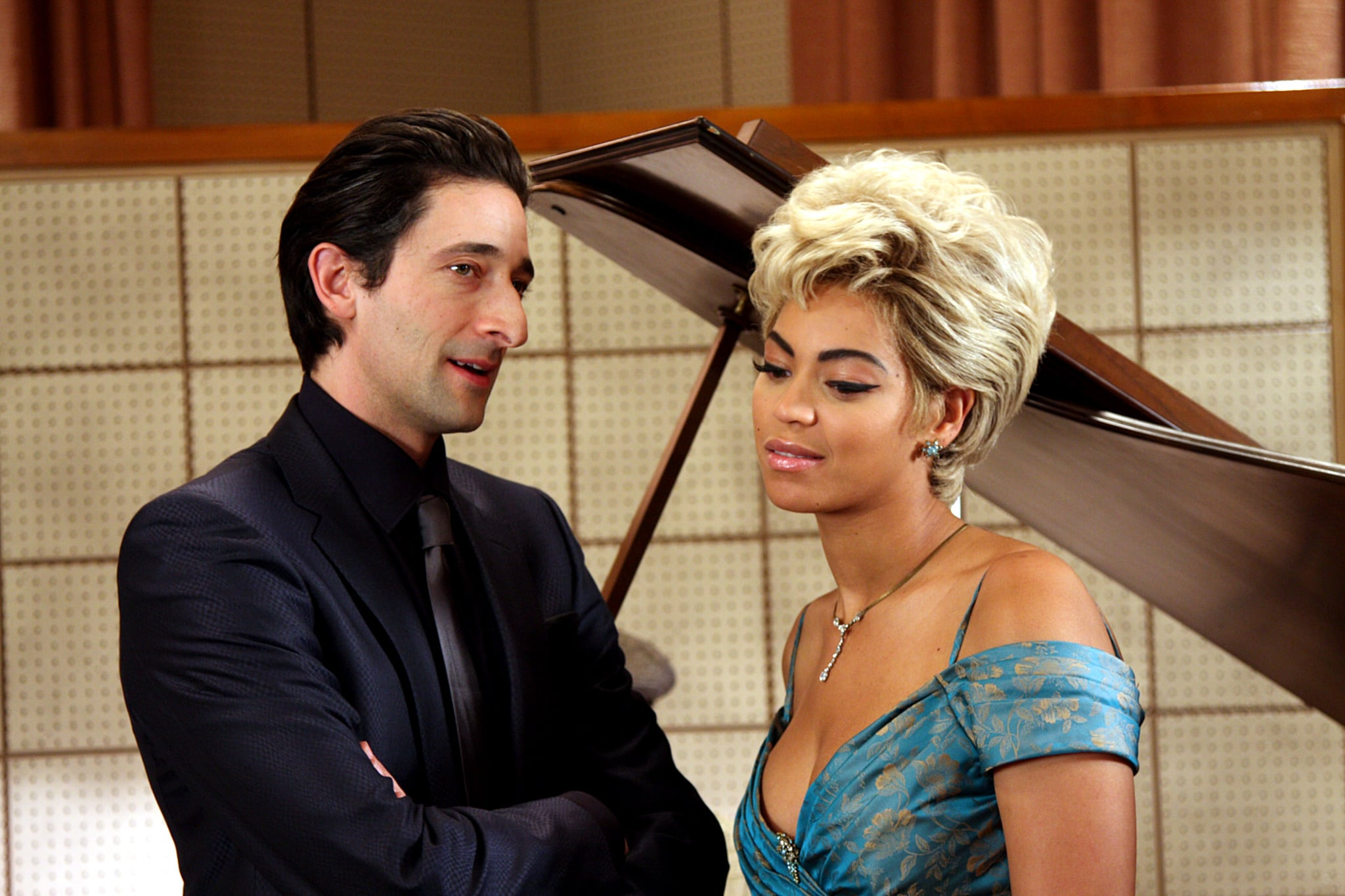 Adrien Brody and Beyonce