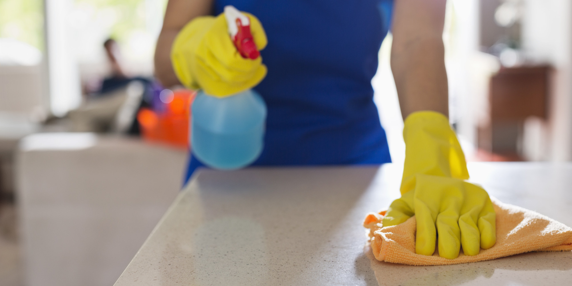 Cleaning, Disinfecting, and Sanitizing — What's the Difference?