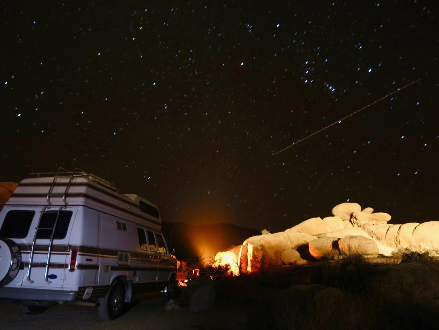 Night Sky in Yellowstone