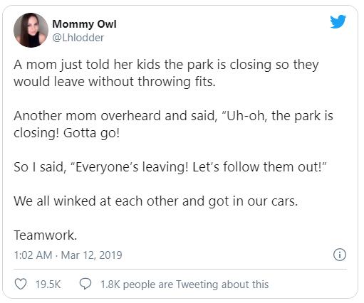 Mommy Owl's Tweet - Feels Like a Battlefield