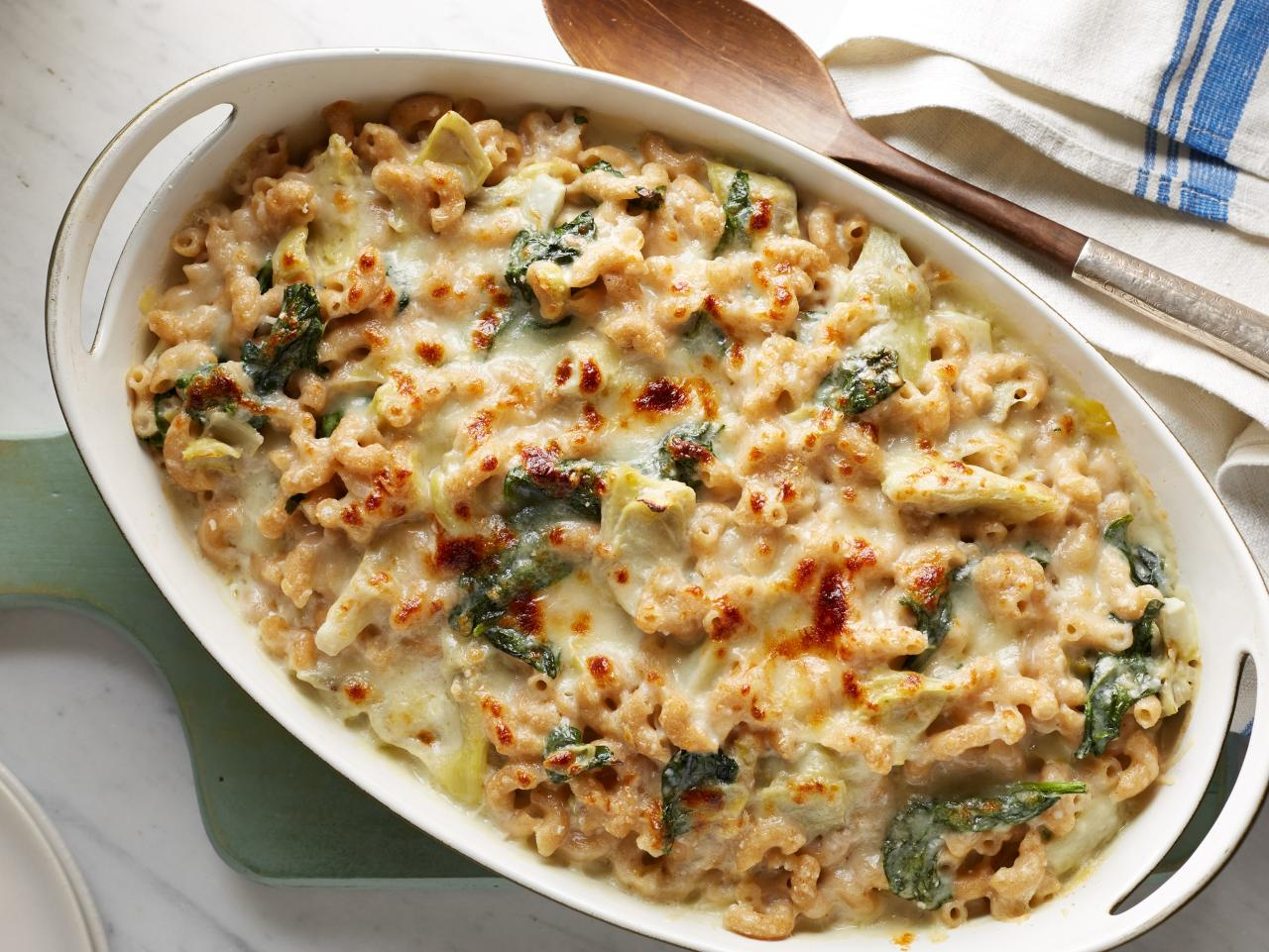 Spinach and Artichoke Mac and Cheese Recipe
