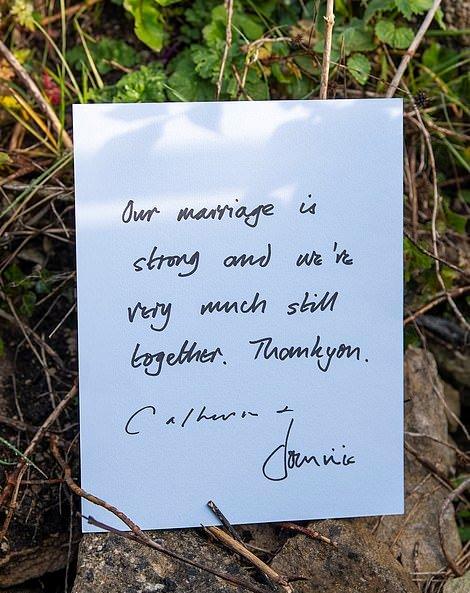 Dominic West letter