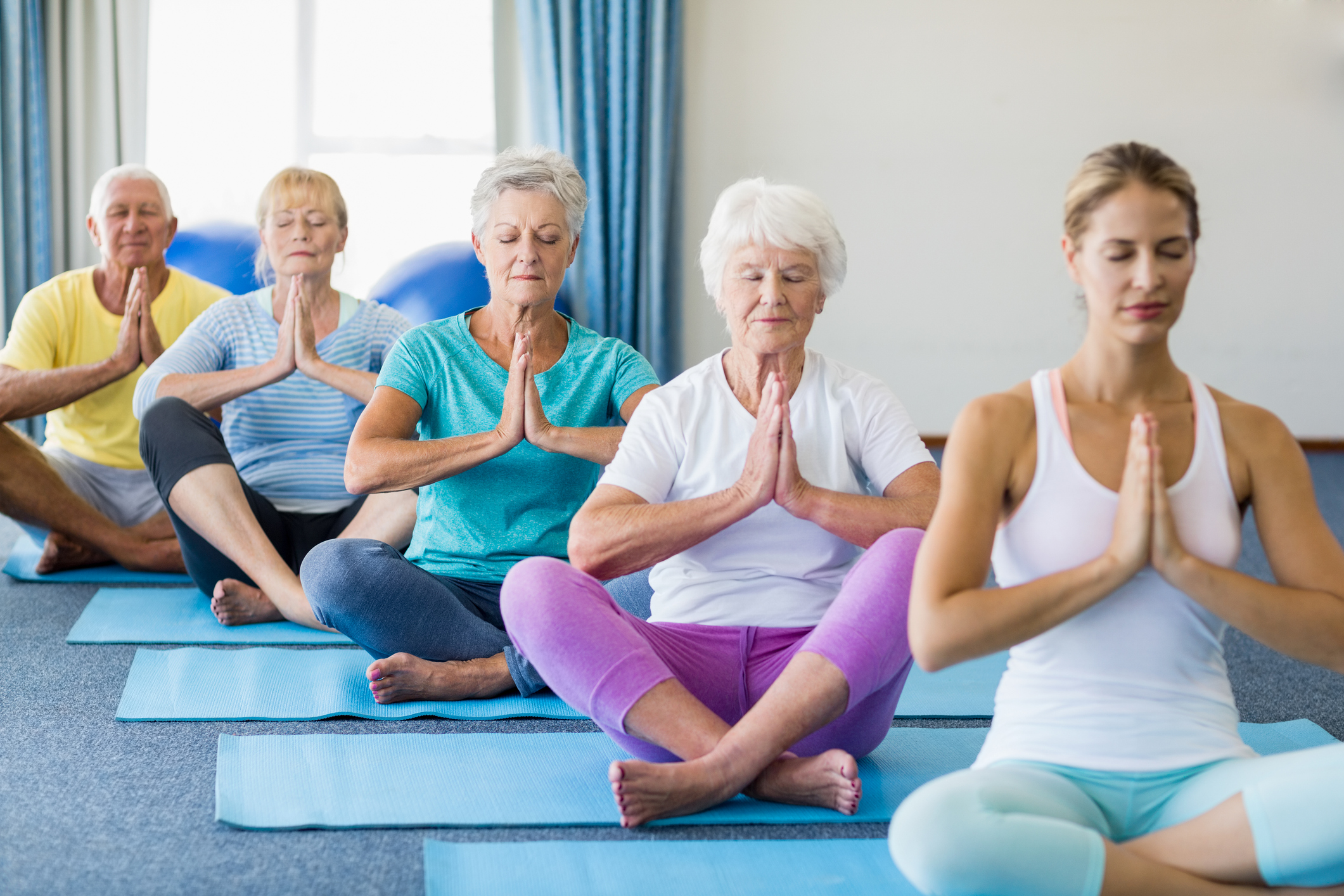 Yoga class, all ages
