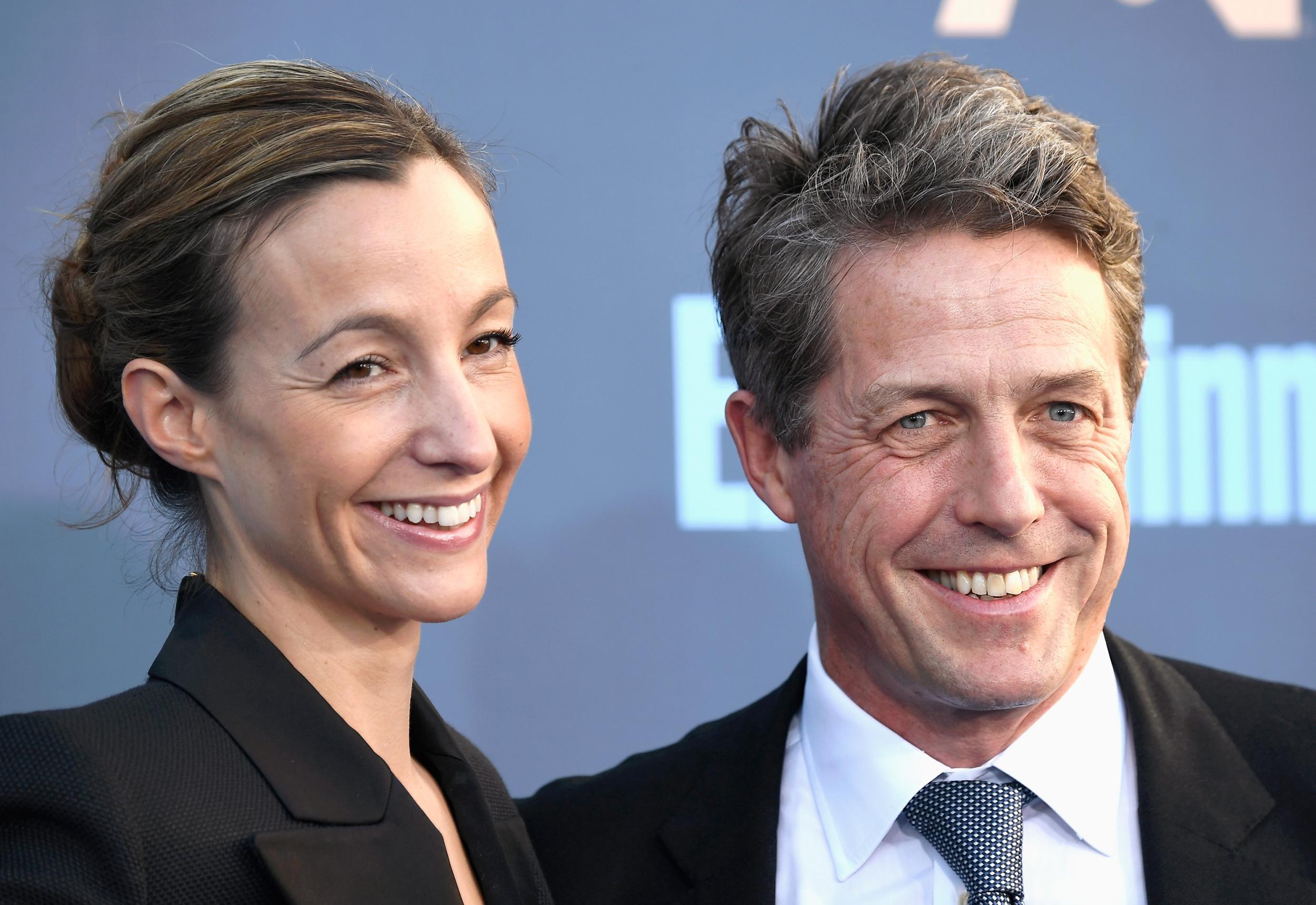 Hugh Grant & Anna Elisabet Eberstein