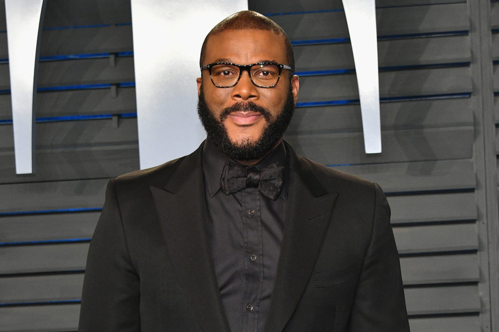 Tyler Perry Helped Atlanta Families in Need on Thanksgiving