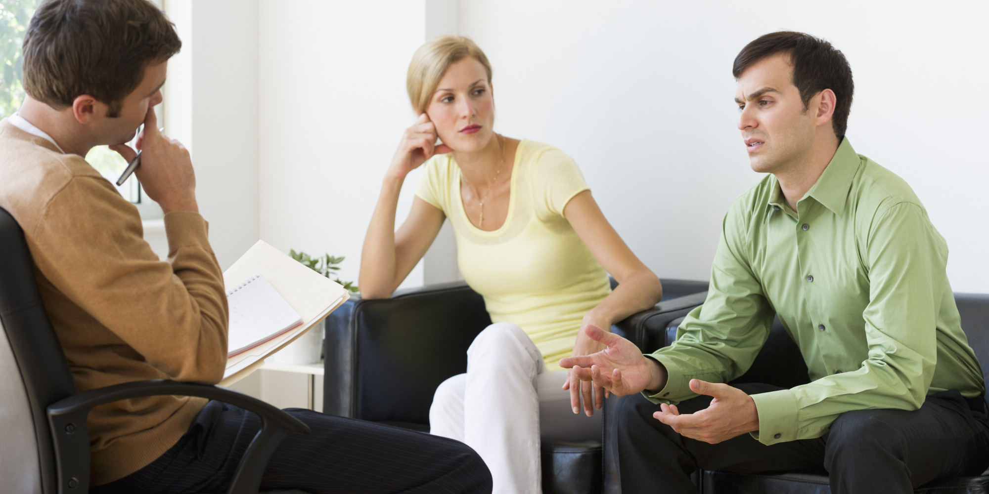 Couple in therapy to rekindle their relationship