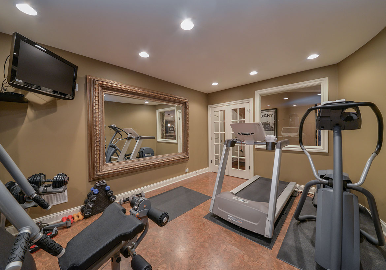 Home Fitness Setup
