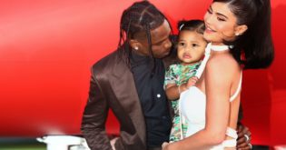 Kylie Jenner, Stormi, and Travis Scott Reunite to Give Back
