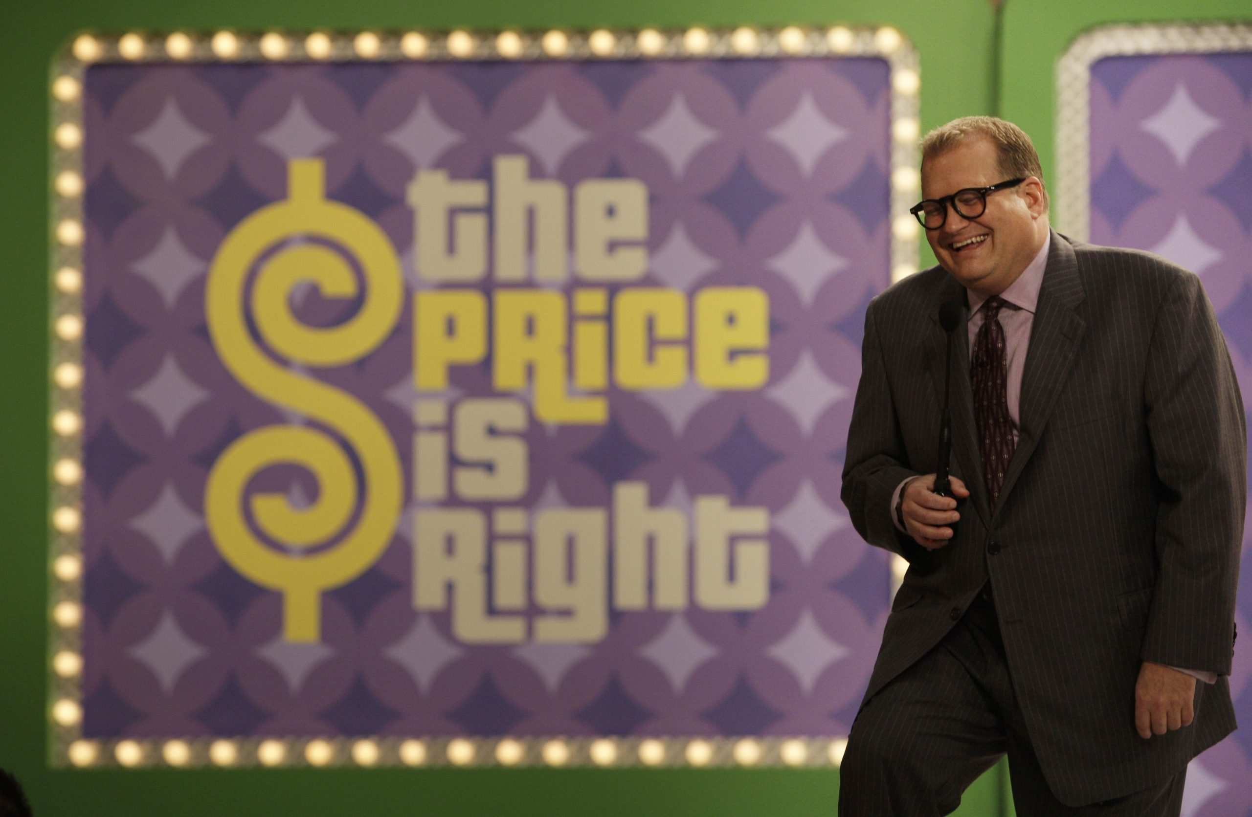 """Drew Carey the new host of the game show """"The Price is Right"""""""
