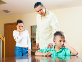 Stepchild annoyed by parents