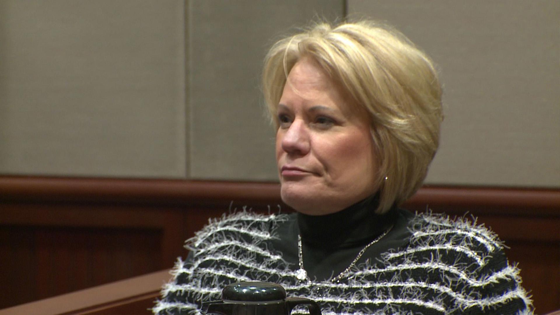 Pamela Hupp during her trial.