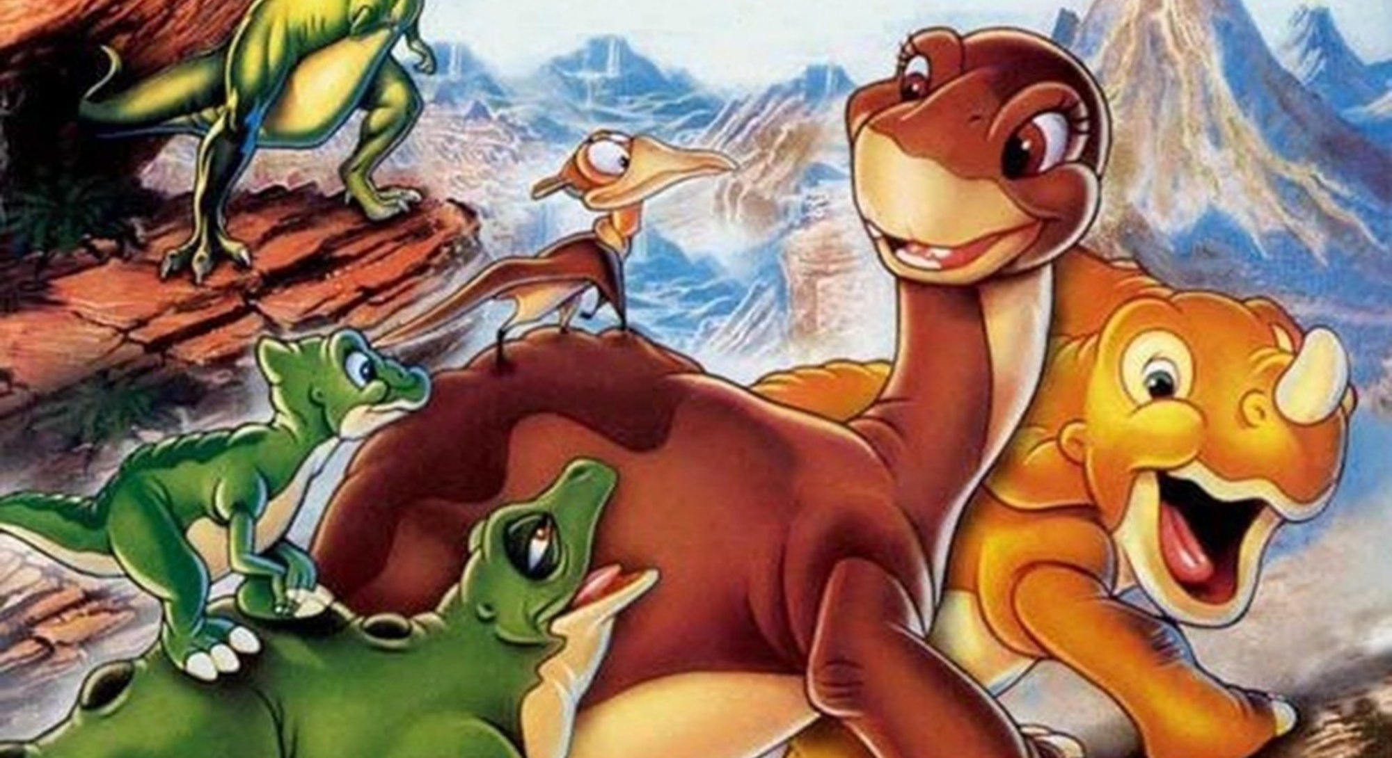 The Land Before Time - A Touching Animated Classic