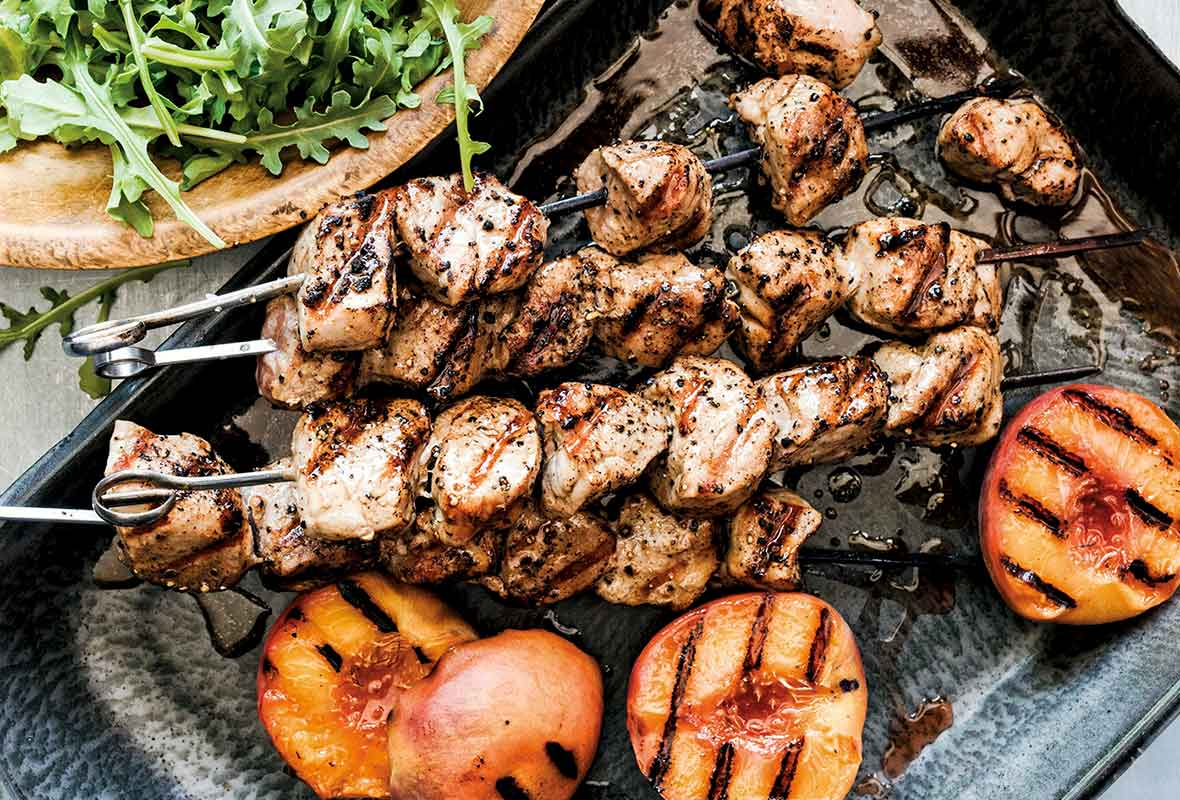 Pair the Skewers With Simple Sides
