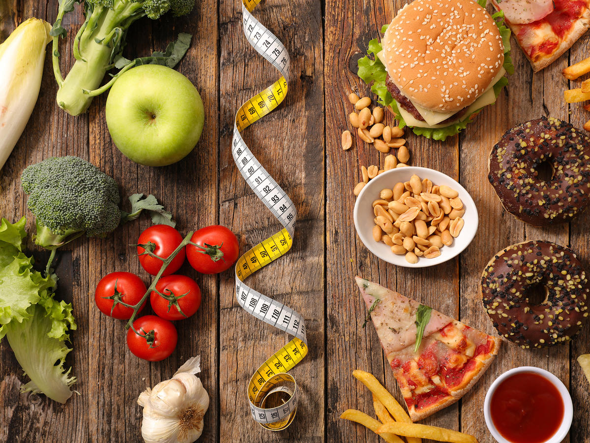 Healthy Food vs Fast Food