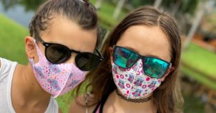 These 3 Options for Kids' Face Masks Prevent Foggy Glasses