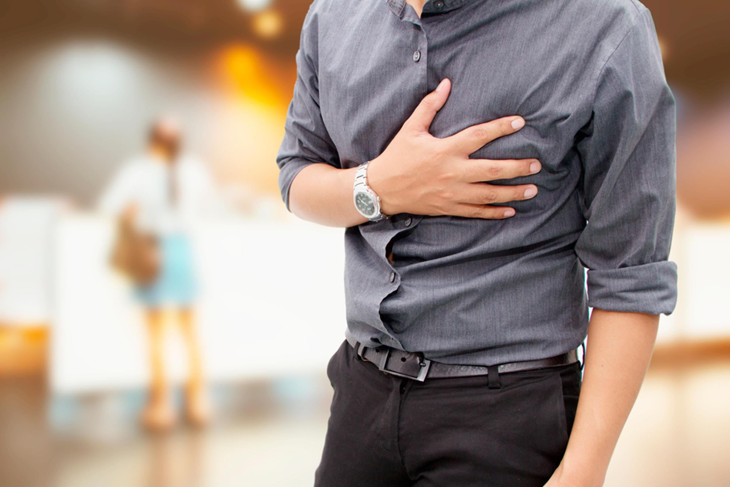 Chest Pain and Heart Palpitations - The Fake Heart Attack